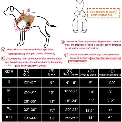 Product Image 6: ICEFANG Tactical Dog Harness with 2X Metal Buckle,Dog Walking <a href=