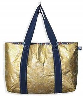 MIXT Studio Tyvek Travel REVERSIBLE Tote Bag Water Resistant Lightweight Beach Pool Shopping