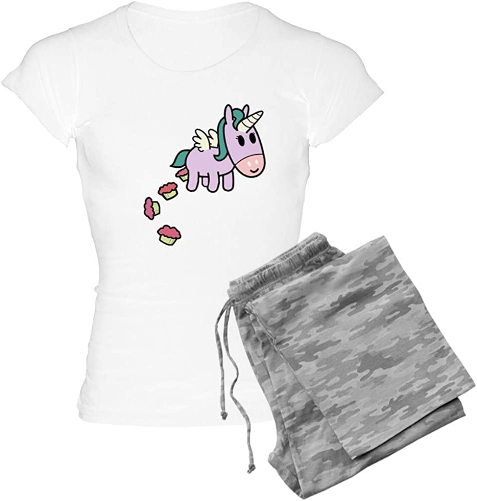 大幅にプライスダウン CafePress Unicorn 百貨店 Sweets Women's PJs Pajamas Light