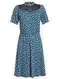 Vive Maria Blueberry Robe en dentelle Bleu - Bleu - XL