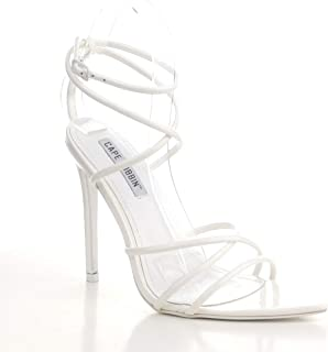 كيب روبين آدا مثير ستيليتو الكعب العالي للنساء، أحذية بكعب مفتوح عند الأصابع