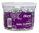 Diane Nail Clippers – Bulk Pack of 72 – For Adults, Kids, Seniors, Men, Women with Fold Out File and Nail Cleaner, Made of Stainless Steel Metal, D904