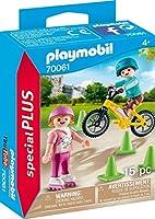 PLAYMOBIL 70061 ローラーブレードとBMXで遊ぶ子供たち