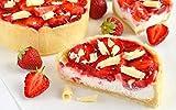 1000 Piezas Rompecabezas de Madera de Hijos Adultos tartas de fresa crema bayas comida fresas Jigsaw puzzle para Juegos casuales de bricolaje -75x50cm