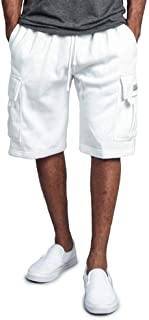 Sponsored Ad - G-Style USA Men's Solid Fleece Heavyweight Cargo Shorts