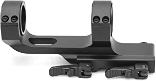 Flat Top Offset One Piece QD Scope Mount with Quick Release Cam Locks 1913 Picatinny Rails
