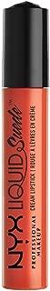 NYX Professional Makeup Liquid Suede Cream Lipstick, Orange County, 0.13 Fluid Ounce