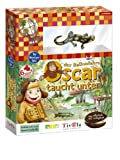 Oscar taucht unter (mit Plastiktier) -