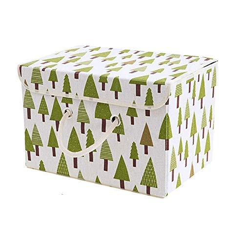 xiamenchangketongmaoyi Cajas de almacenaje Decorativas Carton Cajas organizadoras Juguetes Cajas de Almacenamiento para Ropa Caja de almacenaje Tree,s
