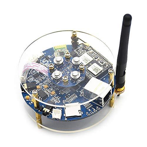 Eindversterker board, DIY draadloze audio fidelity module versterker Range Extender WIFI module versterker kit met schakelpaneel, flexibele platte kabel, voeding via USB 5V