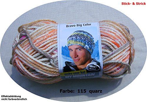 Schachenmayr Bravo Big Color 115 quarz color 200g Wolle