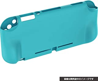 CYBER ・ シリコンカバー グリップタイプ( SWITCH Lite 用) ターコイズ - Switch