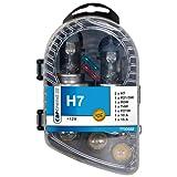 Cartrend Scatola lampadine a incandescenza H7, 9 pezzi