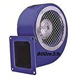 Uzman-Versand SG140ER Industrie Radial ventilateur, Radial Ventilateurs centrifuge Fan métal d'aspiration extracteurs Aspiration extracteur Moteur 230 Volt