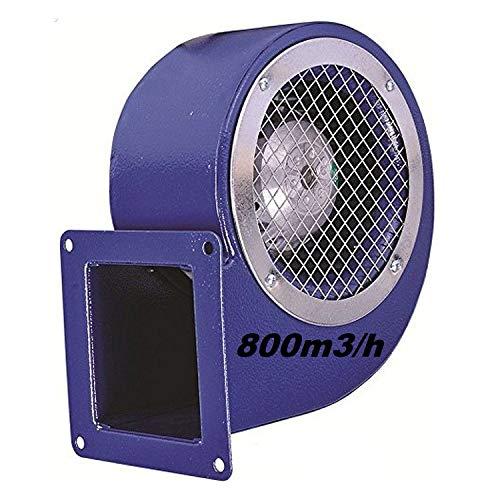 Uzman-Versand SG140ER Radialgebläse, Gebläse Ventilator Radialventilator Absaugung Metallventilator Absauggebläse Lüfter Radialgebläse Zentrifugal Schneckenlüfter Lüfterrad Radlüfter Radiallüfter