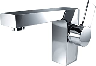 Fresca Bath FFT1053CH Isarus Single Hole Mount Bathroom Vanity Faucet, Chrome
