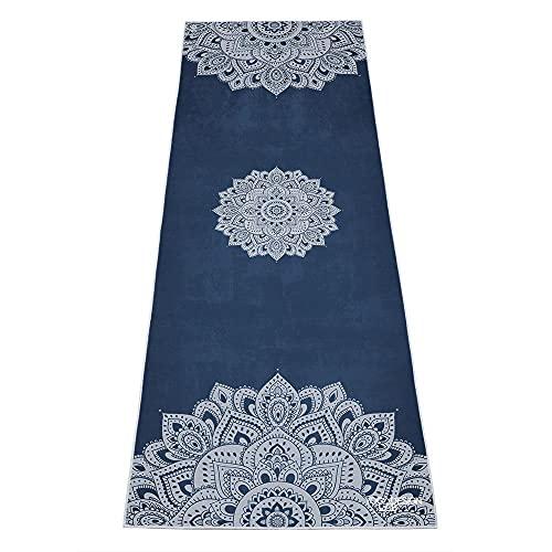 YOGA DESIGN LAB   The HOT Yoga Towel   Premium Non Slip Colorful Towel   Eco Printed + Quick Dry +...