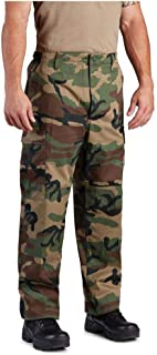 Propper Woodland Camo BDU Pants - 50/50 Nylon Cotton Twill
