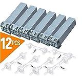 12 pièces Filtre à Cartouche, Remplacement générique du Filtre Cpap pour Soclean, Comprend 6 filtres à Cartouche et 6 clapets Anti-Retour