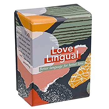 Love Lingual  Card Game - Better Language for Better Love - 150 Conversation Starter Questions for Couples - to Explore & Deepen Connections with Your Partner - Date Night & Relationship Cards