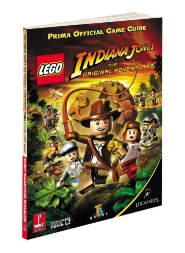 Lego Indiana Jones : The Original Adventures Official Game Guide (Prima Official Game Guides) by Prima Development (2008-06-06)