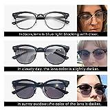 Immagine 1 kimorn fotocromatiche occhiali per blocco