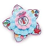 happygirr Maquillaje juguete seguro set de maquillaje respetuoso con el medio ambiente lavable cosméticos Princesa juego de juguetes para niñas más de 3