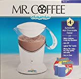 Mr. Coffee Cocomotion 4 Cup Automatic Hot Chocolate Maker W/2 Bonus Mugs