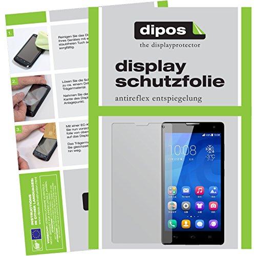 dipos I 6X Schutzfolie matt kompatibel mit Huawei Honor 3C Folie Displayschutzfolie - 2