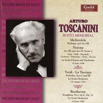 Toscanini - Boito Memorial - La Scala 1948