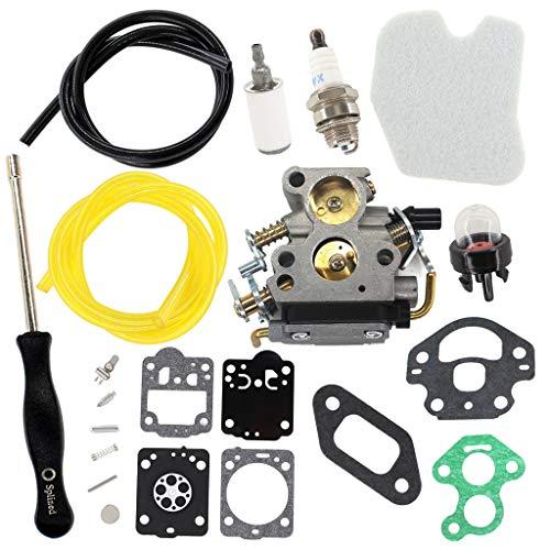 HURI - Kit di riparazione per cacciaviti per carburatore Husqvarna 235 235E 236 236E 240 240E Jonsered CS2234 CS2238 CS2234S CS2238S sostituisce 574719402 545072601