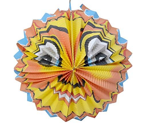 Alsino Kinder Spielzeug St Martins Laternen 3D Papierlaternen Bunt, Laterne Sonne