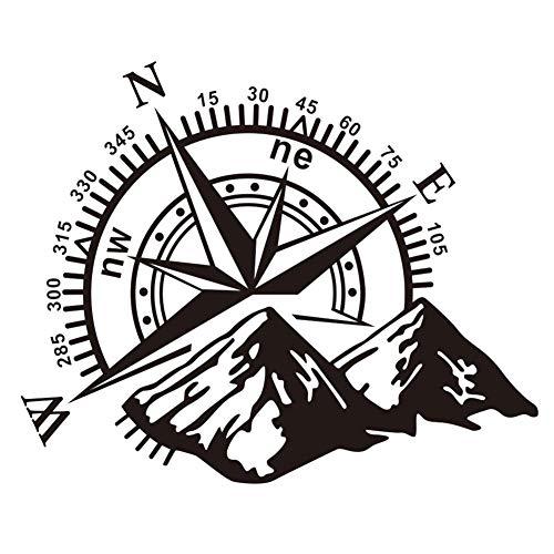 petit un compact Everpertuk Compass Naviguer dans les montagnes Autocollant pour pare-chocs en PVC Camion automatique SUV…