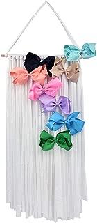 SuperiMan Hair Clips Holder,Fringe Hair Bows Headband Holder Storage Organizer Hanger for Girls …