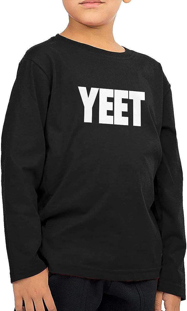 NOT YEET Boy Girl Movement ChildLong Sleeve T-Shirt Tee