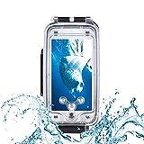 UIQELYS Unterwasser Tauchen Fall 40m wasserdichte Handy Abdeckung kompatibel mit iPhone,...
