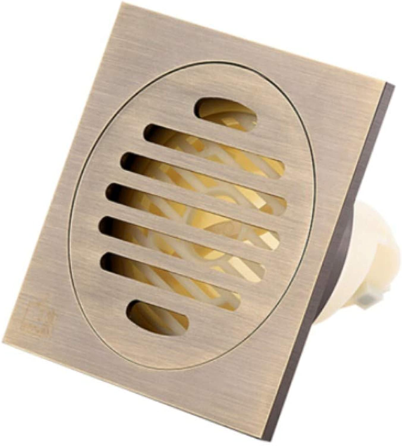 Deodorant, Insect Proof and Taste Resistant Dry and Wet Area Floor Drain