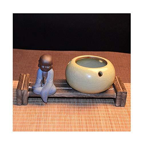 WEM Ceniceros de Cerámica de Múltiples Funciones de la Manera Creativa a Prueba de Viento Nuevo Chino Grande Personalidad Viviente Oficina Sala de Tendencia Zen,D