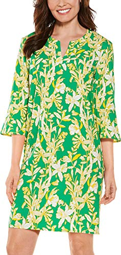 cute floral tunic dress UV protection