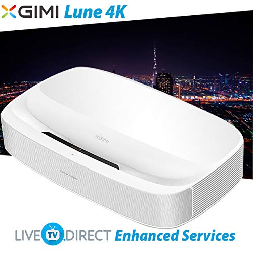 極米XGIMI 皓Lune-4K Android 3D Smart TV Projector | 激光超短焦 | 原生4K UHD | 2200ANSI流明 | Harman/Kardon原裝音响 | 海外華人 國內代购+破解