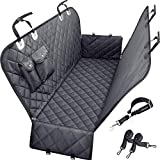 URPOWER Dog Seat Cover Car Seat Cover for Pets 100% Waterproof Pet Seat Cover Hammock 600D Heavy Duty Scratch Proof Nonslip Durable Soft Pet Back Seat Covers for Cars Trucks and SUVs