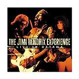 Jimi Hendrix Albumcover Live in Ottawa Leinwand Poster