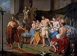 Kunst für Alle Impresión artística/Póster: Karl Von Blaas Sokrates und Alkibiades - Impresión, Foto, póster artístico, 90x65 cm