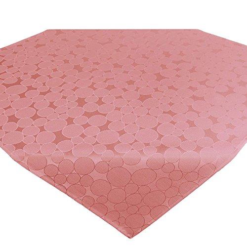 Tischdecke Mitteldecke ROM/Kreis-Muster / 85x85 cm/Soft-rot
