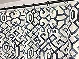 ArthuereBack Duschvorhang blau Duschvorhang nach Maß Duschvorhang Slub lang Duschvorhang nach Maß Duschvorhang nach Maß