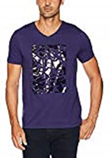 Men's Short Sleeve V-Neck Graphic T-Shirts