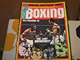 Victory Sports Series International Boxing Magazine (Ali-Frazier...The Last Superfight , Special Souvenir Issue, December 1975)