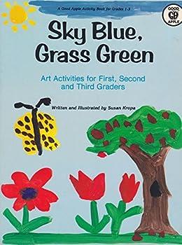 Paperback Sky Blue, Grass Green Book