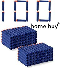 HOME BUY Bullet Foam Dart Bullets for N-Strike Elite Guns (Multicolour) - 100 Pieces