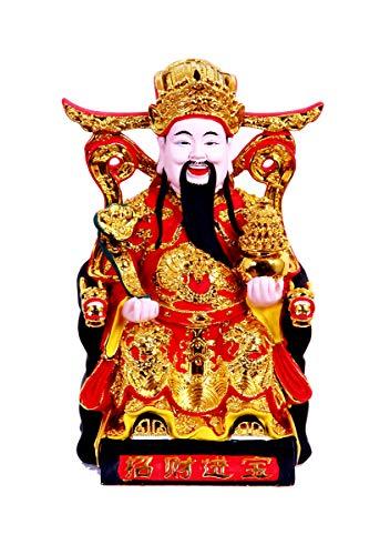 CAI Shen Statue, Caishen, Wencaishen, God of Fortune,...